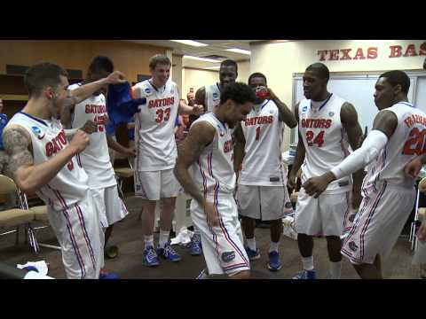 Florida Basketball: Postgame Celebration - NCAA Round of 32