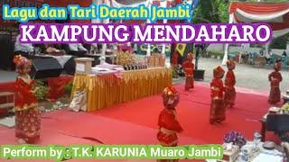 Download Mp3 Kampung Mendaharo|| Lagu Daerah Jambi|| Gerak Tari Oleh Siswa Tk Karunia Mekarja