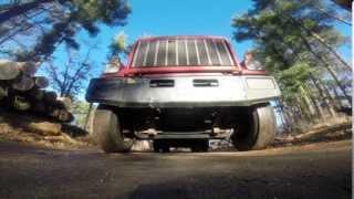 GoPro HERO,GMC Brigadier Dump Truck,6V92 Detroit Diesel.