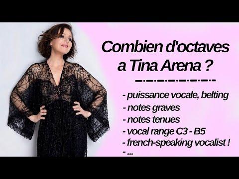 Tina Arena Vocal range / Etendue vocale : C3 - G5 (B5) - A5