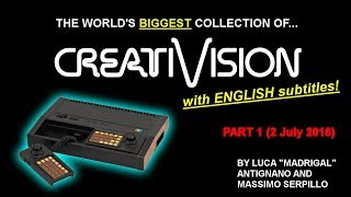 The biggest CreatiVision collection in the world - Part 1