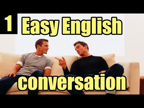 english conversation practice with subtitle - easy - Beginner - محادثة