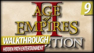 Age Of Empires 2 HD Lets Play Walkthrough - Joan Of Arc Campaign | Misison 4 Pt. 2 (Commentary)