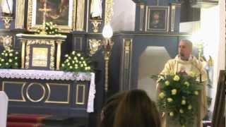 2012-11-16 Wniesienie relikwii św. Ojca Pio