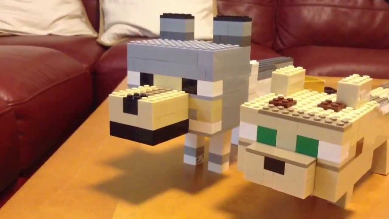 Image Result For How To Build Dog In Minecraft
