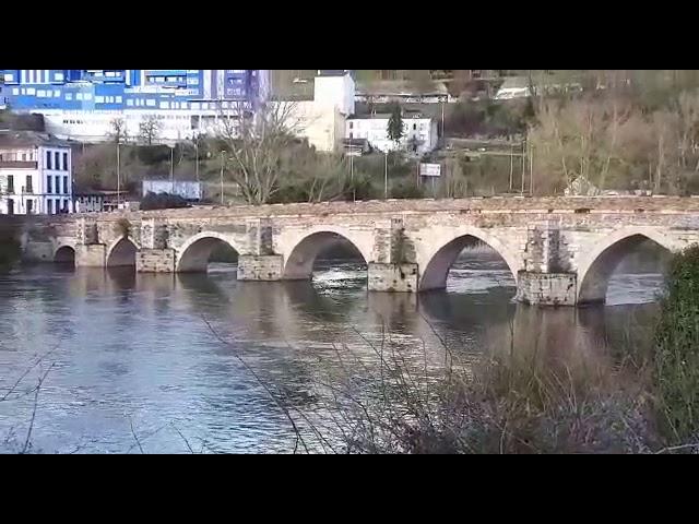 Sube el caudal del río Miño