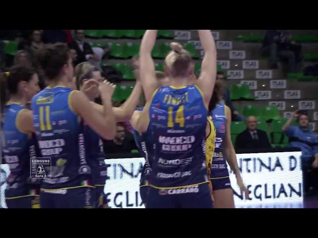 #videoemozioni. Imoco Volley Conegliano - Team Saugella Monza.