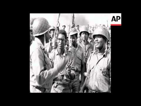 SYND 24 3 68 BIAFRAN TOWN OF ONITSHA IS CAPTURED