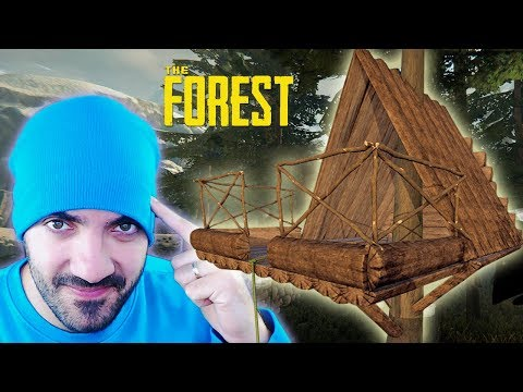 CONSTRUIMOS UNA CASA ÁRBOL ⭐️ The Forest #7 | iTownGamePlay