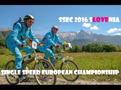 SSEC 2016 - Single Speed European Championship - Slovenia 2016 - official movie