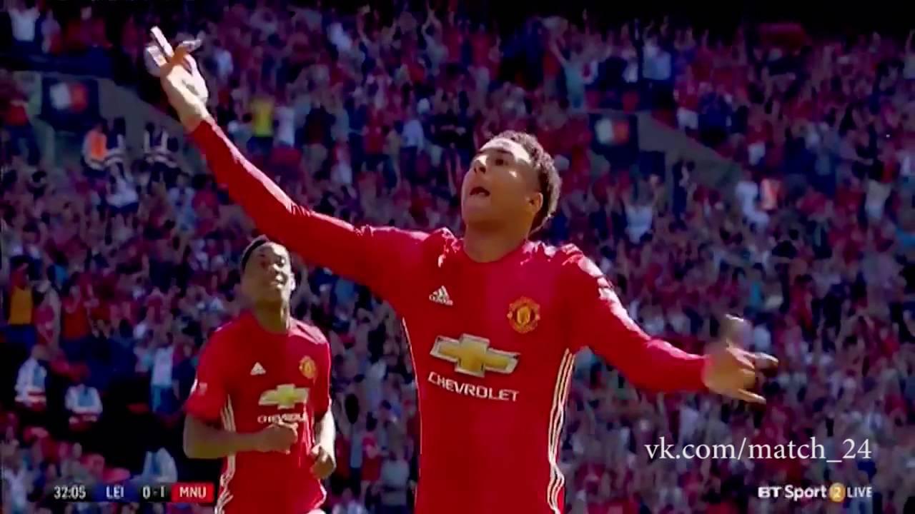 Суперкубок Англии: Лестер — Манчестер Юнайтед