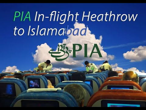 Thumbnail: Pakistan International Airlines Inflight Heathrow to Islamabad (HD)
