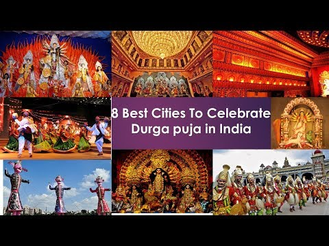 8 Best Cities To Celebrate Durga puja in India || TTL