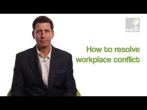 How to resolve workplace conflict - In a nutshell