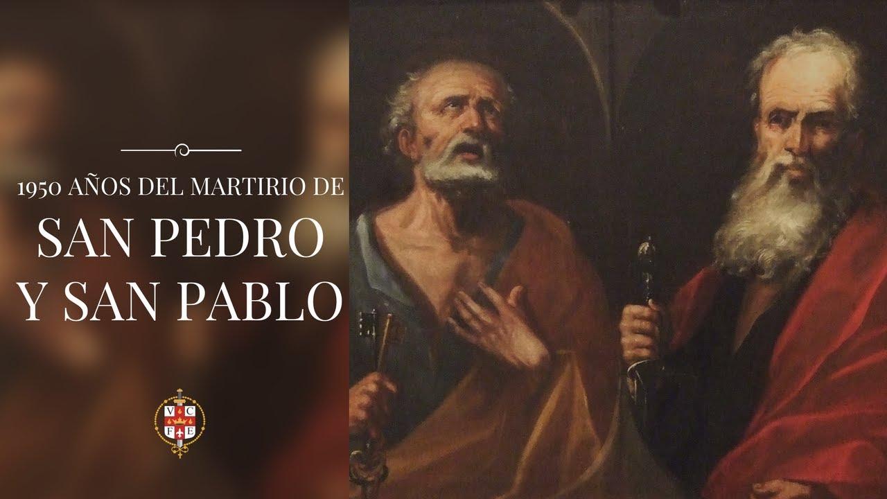 1950 Años Del Martirio De San Pedro Y San Pablo