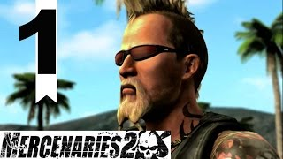 Mercenaries 2 PC Playthrough - Episode 1 - Choosing Mattias!