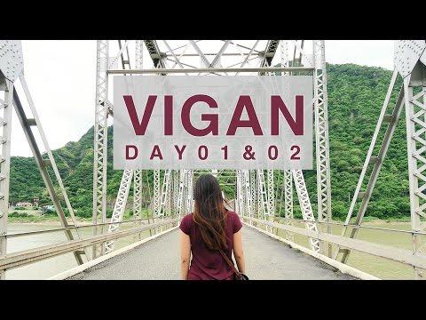 Vigan, Ilocos Sur ● Calle Crisologo & Bagnet Bacon Maki