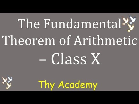 3. The Fundamental Theorem of Arithmetic - CBSE NCERT Class 10 Chapter 1 ( in Hindi)