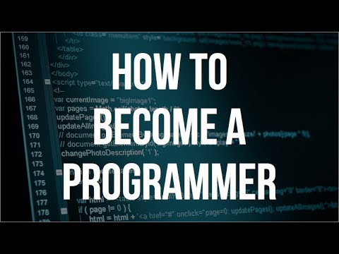 How To Become a Programmer