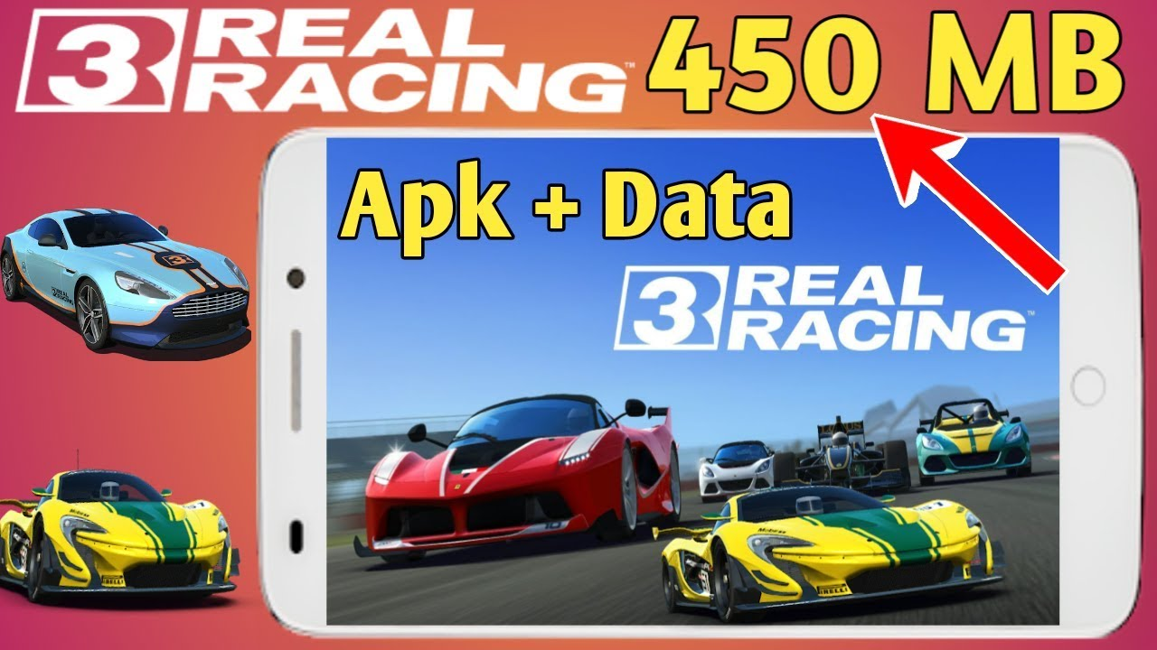 450 Mb Real Racing 3 Highly Compressed Android Game Youtube