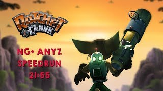 Ratchet & Clank NG+ Speedrun in 21:55 - By Scaff