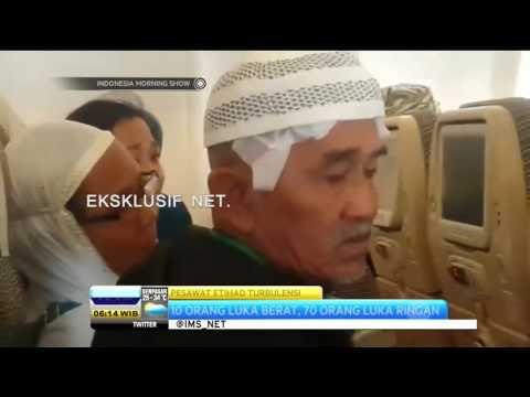 Pesawat Etihad Turbulensi Akibatkan 10 Orang Luka Berat - IMS