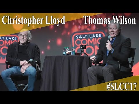 Christopher Lloyd & Tom Wilson  PanelQ&A  SLCC 2017