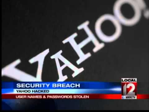 Yahoo Hacked, User Names and Passwords Stolen