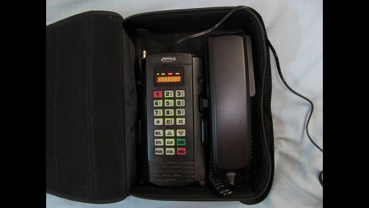 motorola power pak bag phone  1995