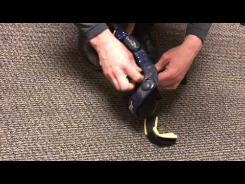 d9401fbd0f Donjoy Custom Brace Anti-Migration Strap Adjustment w/ 4 strap - YouTube