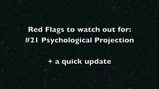 Red flags to watch out for #21: Psychological Projection