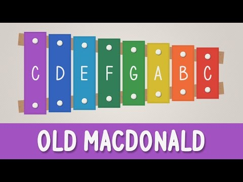How to play Old MacDonald Had a Farm on a Xylophone - Easy Tutorial - YOUCANPLAYIT.COM