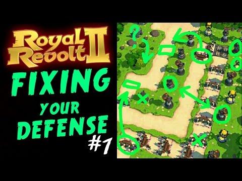 ROYAL REVOLT 2 - FIXING YOUR DEFENSE #1