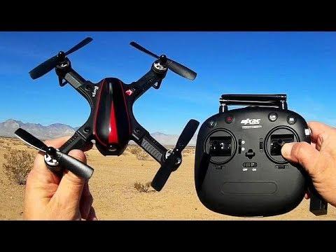 mjx bugs 3 mini  MJXRC MJX Bugs 3 Mini B3mini Brushless Motor Sport Drone Flight Test ...