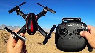 MJXRC MJX Bugs 3 Mini B3mini Brushless Motor Sport Drone Flight Test Review