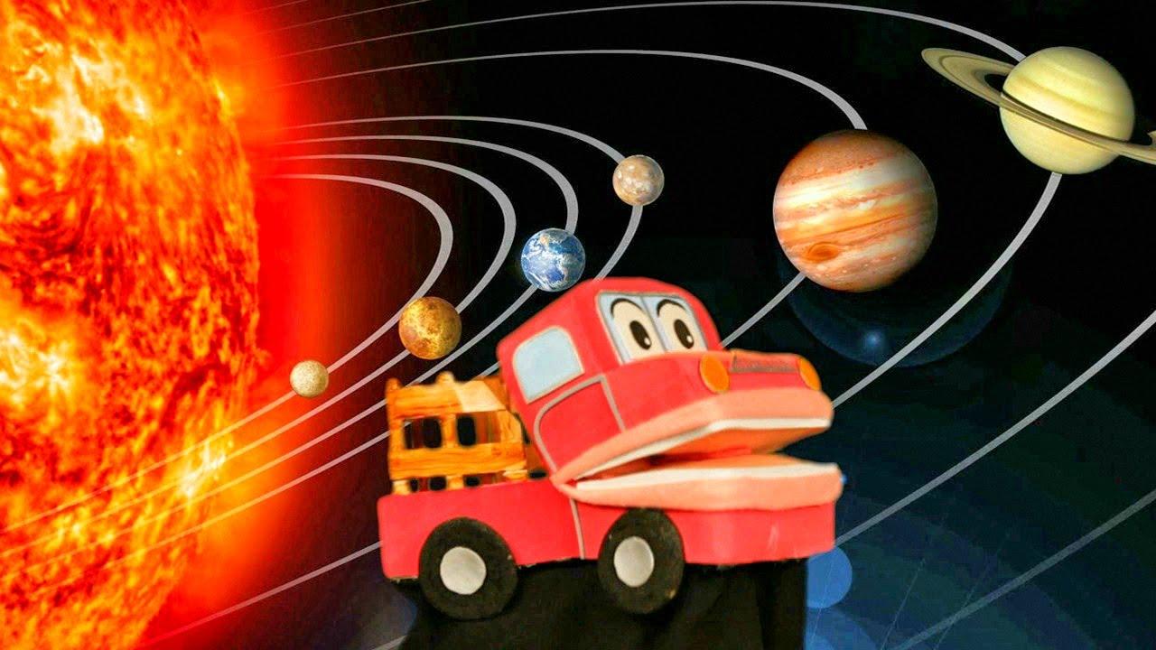 el sistema solar para ni u00f1os - barney el camion
