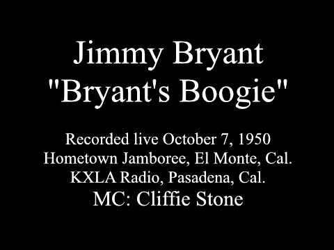 "Jimmy Bryant, ""Bryants boogie"", live 1950"