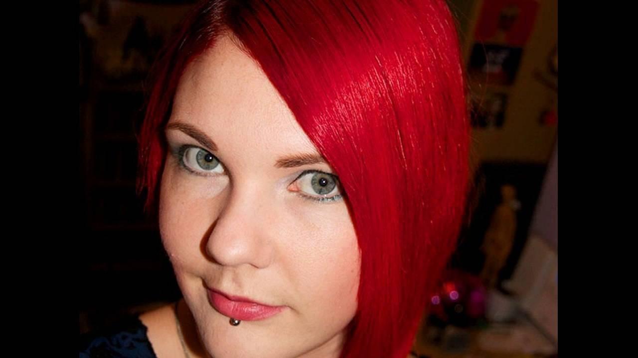 bright red hair dye brands