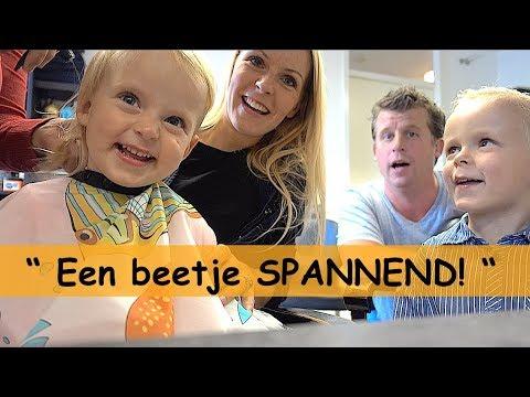 1STE X NAAR DE KAPPER   Bellinga Family Vlog #718