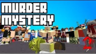 Roblox murderer mystery 2, with 😁😁 awesome gamer 848