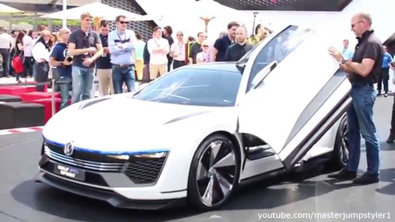 Concept Car: VW Golf GTE Sport   YouTube
