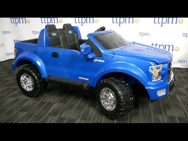Power Wheels Ford F 150 Battery Powered Ride On Review Fisher Price Toys Youtube