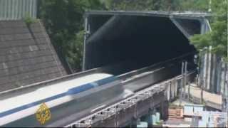 Snelste trein ter wereld; 581 km/h