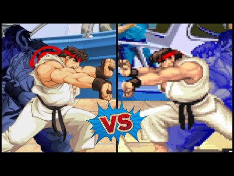 HD VS Classic Super Moves Ultra Street Fighter 2