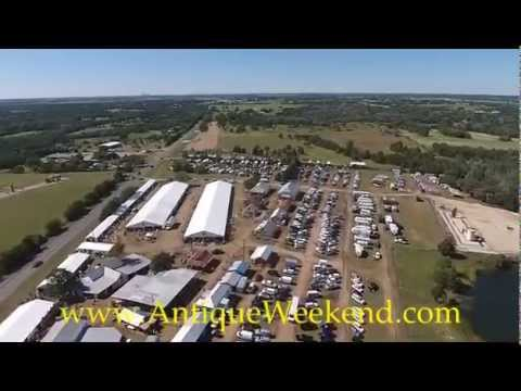 AntiqueWeekend Flyover - BIGGEST Flea Market - Antique Show in the World!