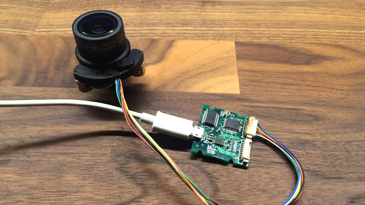 Testing motorized zoom/focus 2 8-12mm lens + USB control board