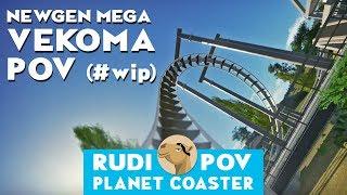 POV NewGenMEGA Vekoma  -  Planet Coaster (wip)