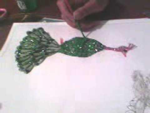 Como decorar un pavo real paso a paso parte final youtube for Como decorar un antejardin pequeno