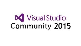 Tutorial Deutsch - Download und Installation Visual Studio Community 2015