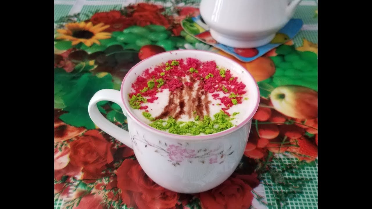 Flame Tree Latte Art How To Make Coffee Design